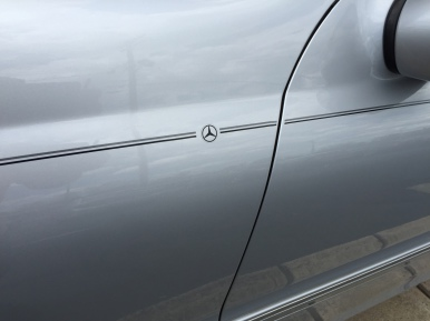 Mercedes-Benz vinyl pinstripe emblem stripe logo decal graphic