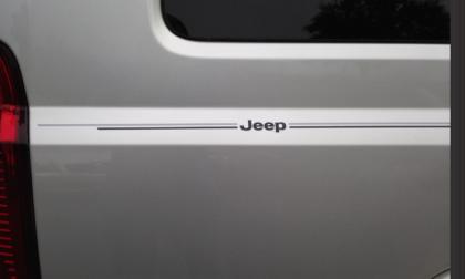 Jeep Grand Cherokee Compass Liberty Patriot vinyl pinstripe emblem stripe logo decal graphic