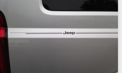Jeep Grand Cherokee Renegade Gladiator limited summit overland high altitude latitude trailhawk Compass Wrangler Liberty Patriot vinyl pinstripe emblem stripe logo decal graphic