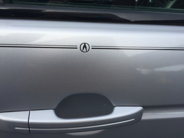 Acura vinyl pinstripe emblem stripe logo decal graphic emblem logo vinyl decal pinstripe graphic sticker stripe