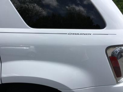 Violassi Striping Company Chevrolet Equinox Logo Emblem