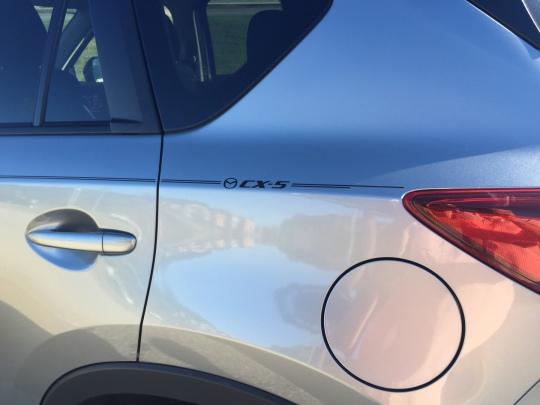 Mazda6 Mazda3 Mazda2 Mazda5 vinyl pinstripe emblem stripe logo decal graphic
