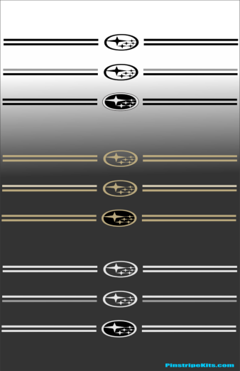 Subaru,auto,car,vehicle,pinstripe,pinstripes,stripes,small,logo,logos,small,decal,decals,emblem,emblems,graphic,graphics