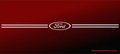 Ford focus explorer f150 expedition taurus escape fusion vinyl pinstripe emblem stripe logo decal graphic