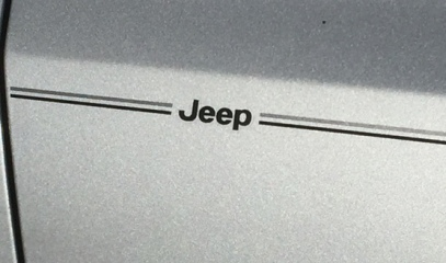 Jeep Grand Cherokee Compass Liberty Patriot vinyl pinstripe emblem stripe logo decal graphic
