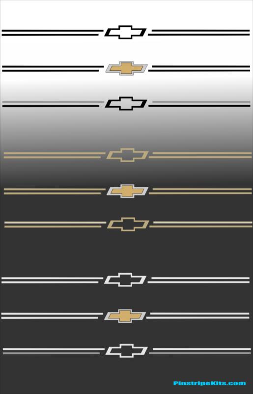 Chevrolet  Chev Chevy bowtie Silverado Impala Malibu Cruze traverse tahoe suburban equinox colorado bowtie chevrolet decal vinyl pinstripe emblem stripe logo decal graphic graphics decals stickers