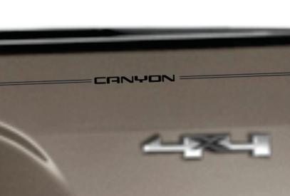 GMC Sierra Acadia terrain yukon envoy canyon denali vinyl pinstripe emblem stripe logo decal graphic