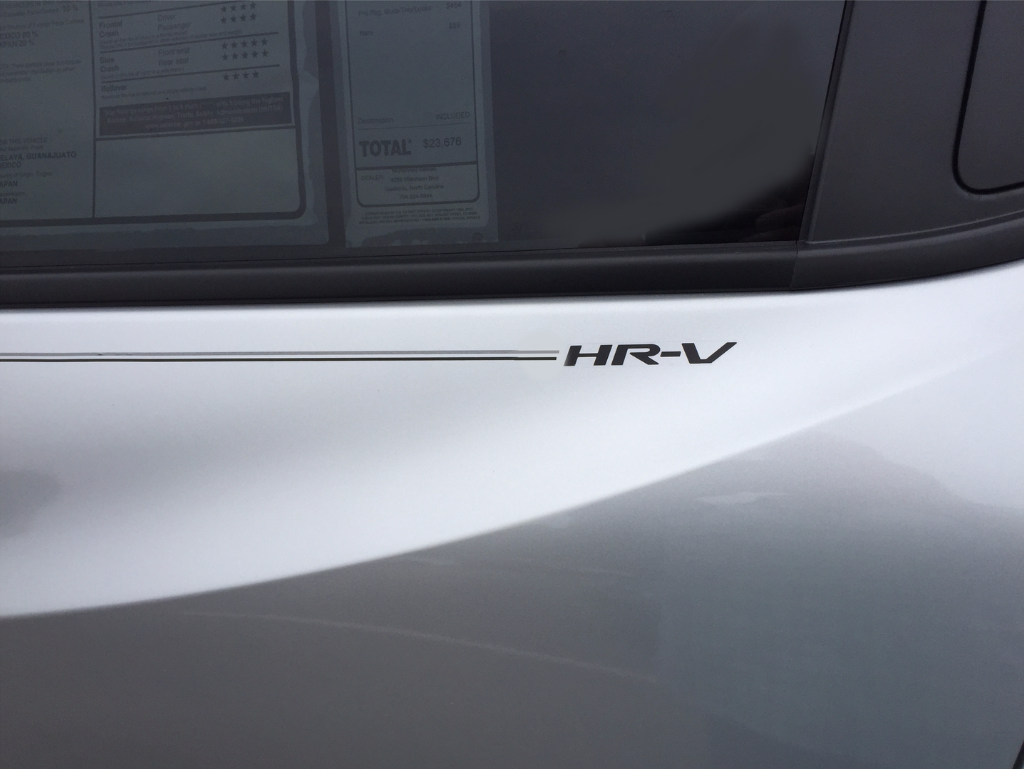 H pinsonda Pilot Accord Civic CRV CR-V Odyssey Pilot Ridgeline Fit HRV HR-V Crosstour vinyl pinstripe emblem logo decal graphic stripe sticker kit