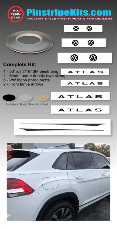 VW Volkswagon golf Jetta Passat Beetle vinyl pinstripe emblem stripe logo decal graphic