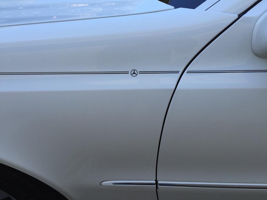 Violassi Striping Company Mercedes Benz Logo Emblem Decal