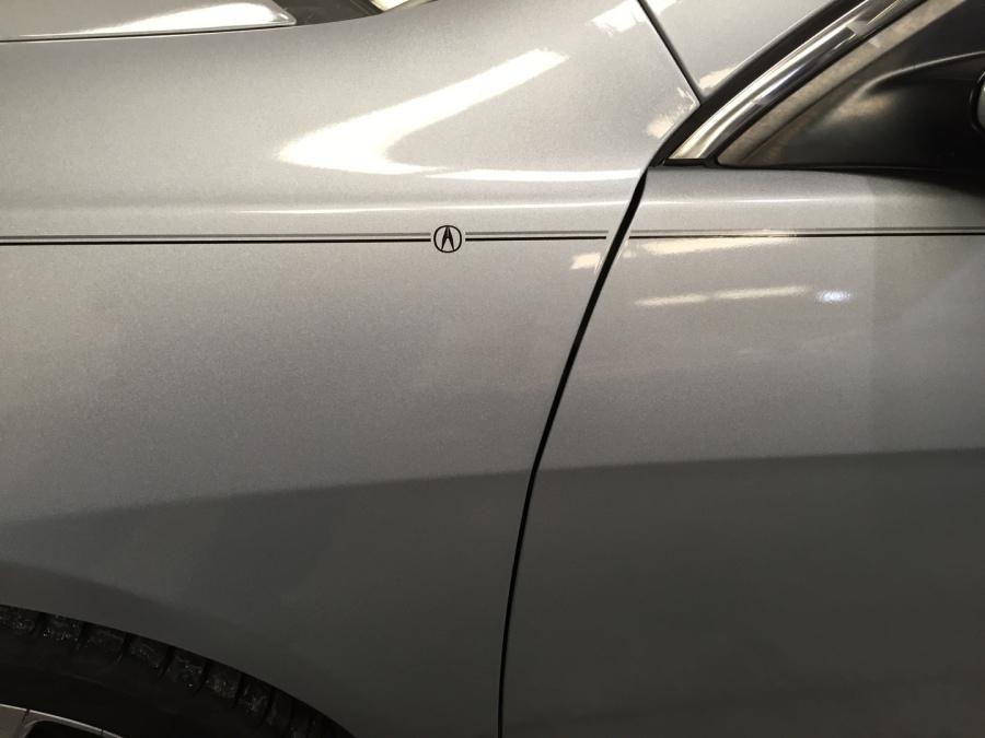 Violassi Striping Company Acura Logo Emblem Decal