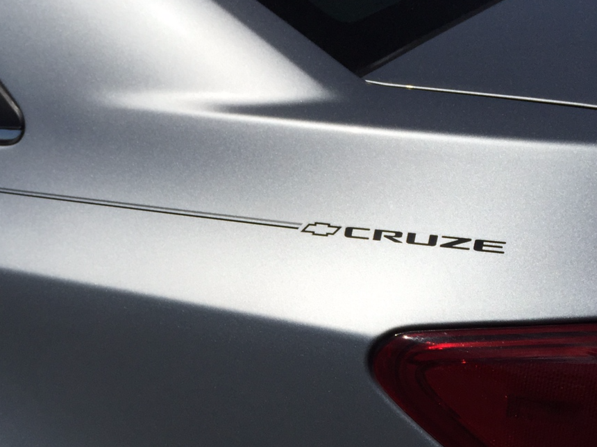 Violassi Striping Company Chevrolet Cruze Logo Emblem