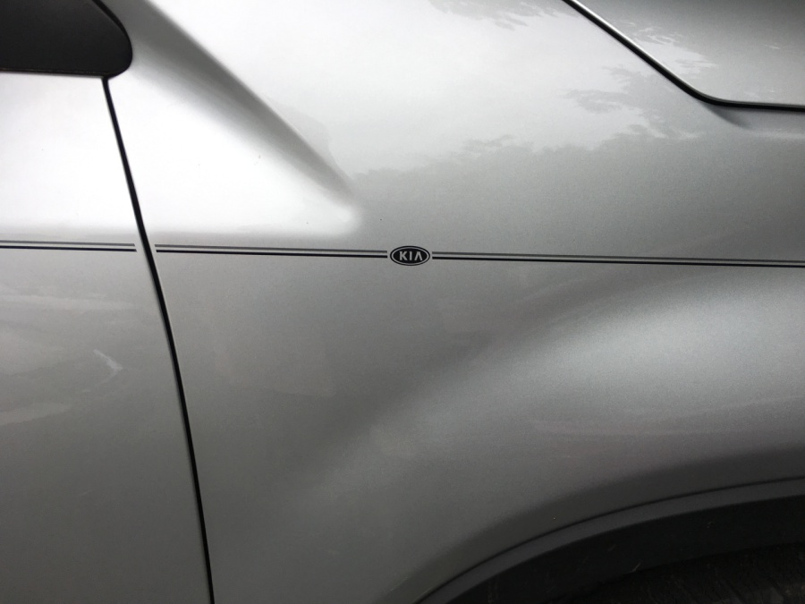 Factory Style Pinstripes For Dealers Kia Kits