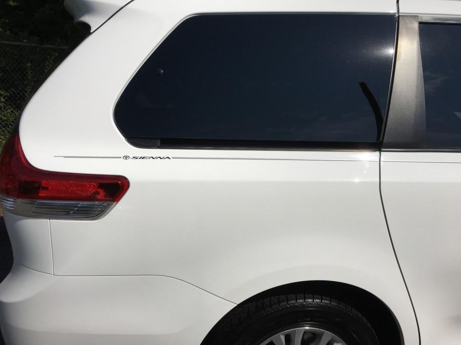 Violassi Striping Company Toyota Sienna Logo Emblem