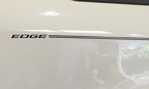Ford Edge Vinyl Logo With Name Decal Emblem Pinstripe Kit