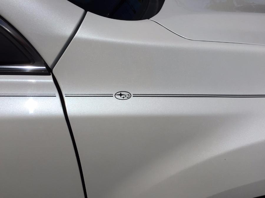 Violassi Striping Company Subaru Forester Logo Emblem