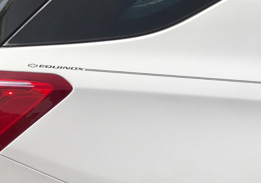 Violassi Striping Company - Chevrolet EQUINOX logo emblem